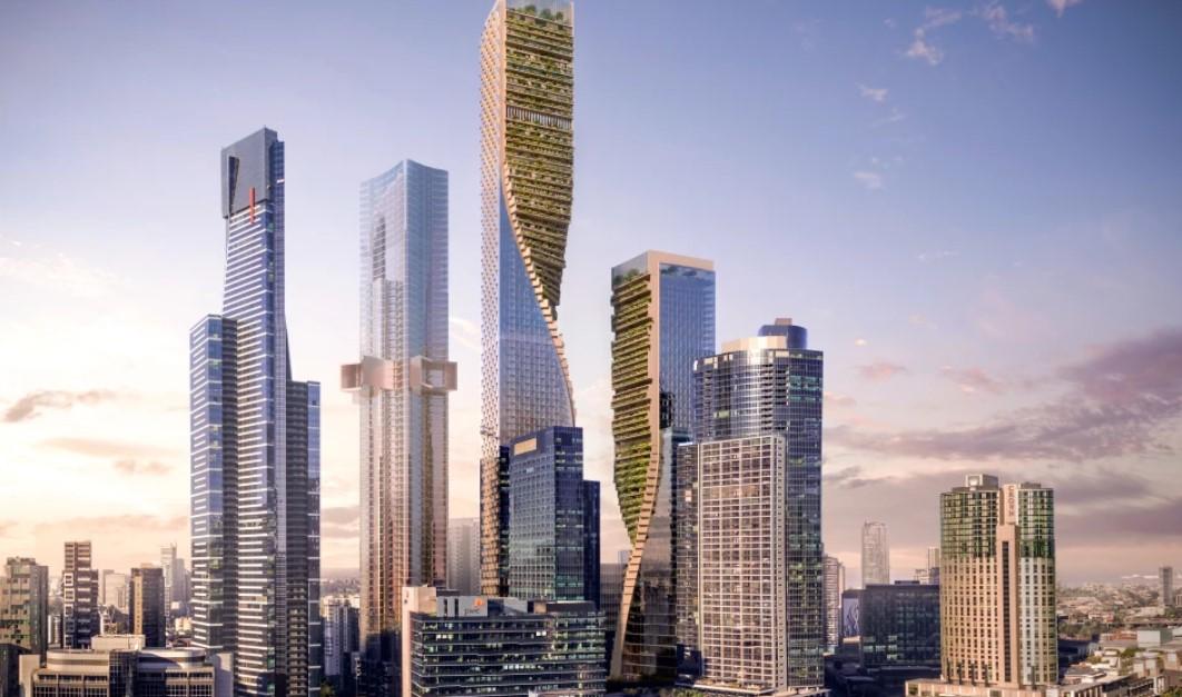 Australia's Tallest Skyscraper Will Have a Green Twist