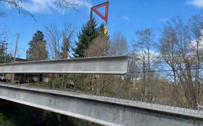 Concrete Girders Arrive at Peter Western Replacement Bridge Project