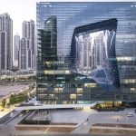 Zaha Hadid's Holey Hotel Turns Heads in Dubai