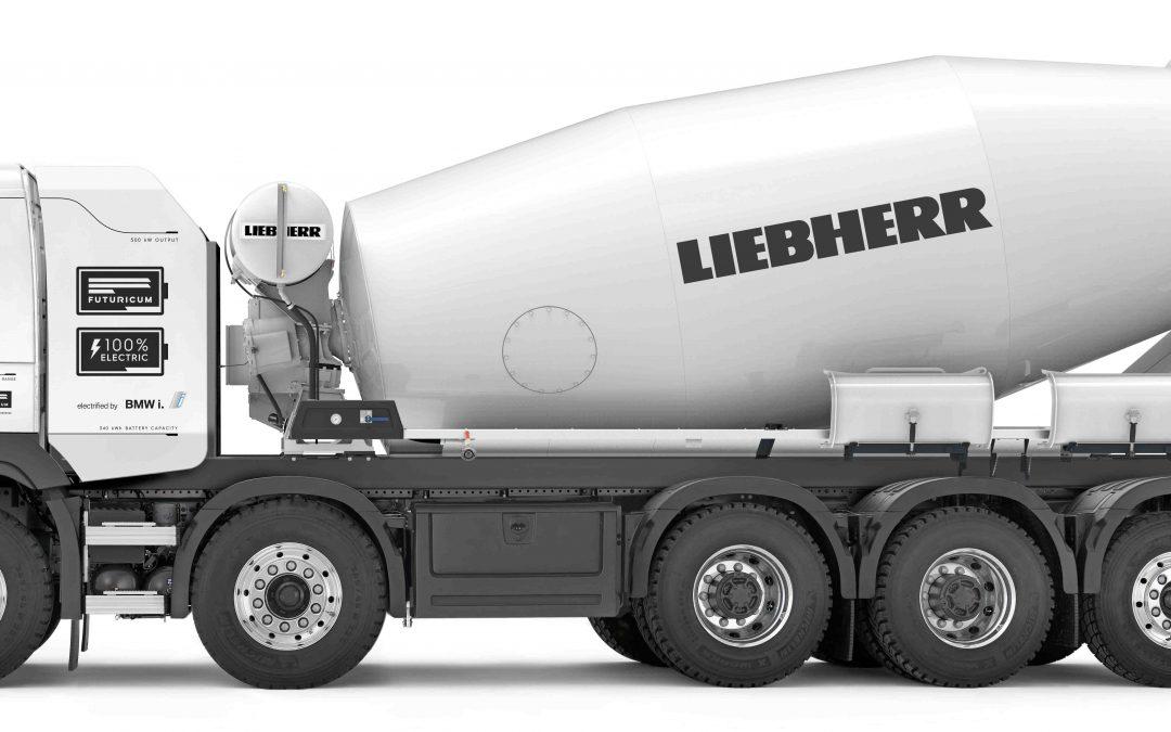 Holcim Flagship Books First Liebherr Electric Mixer Truck Order