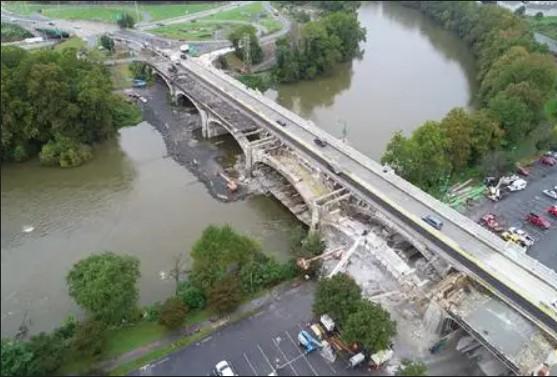 Rehabilitatiog The Historic Penn Street bridge