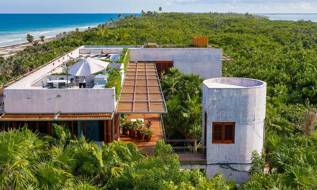 Casa Bautista is a Secluded Beachfront Villa in Mexico Designed By Productora