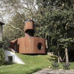 Offbeat Guesthouse Boasts Underground Cinema and Watchtower Shower