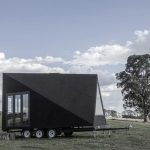 Base Cabin Tiny House Puts an A-frame on Wheels
