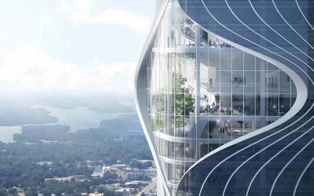 Unusual Skyscraper will put Eyes in the Sky