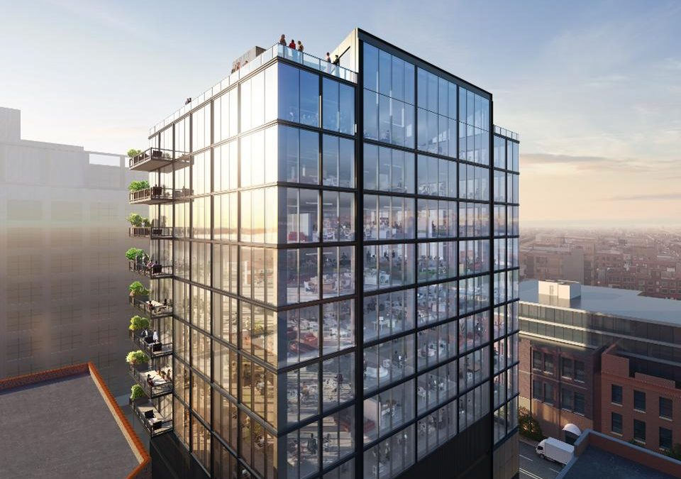 New Chicago Office Building Is One Of The First In The U.S. Designed For Post COVID-19 Environment