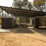 Shipping Container Home Increases Living Space with Sheltered Exterior