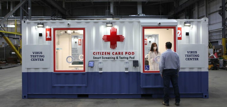 Turner, PCL offer Quick-install Modular Health Screening Pods