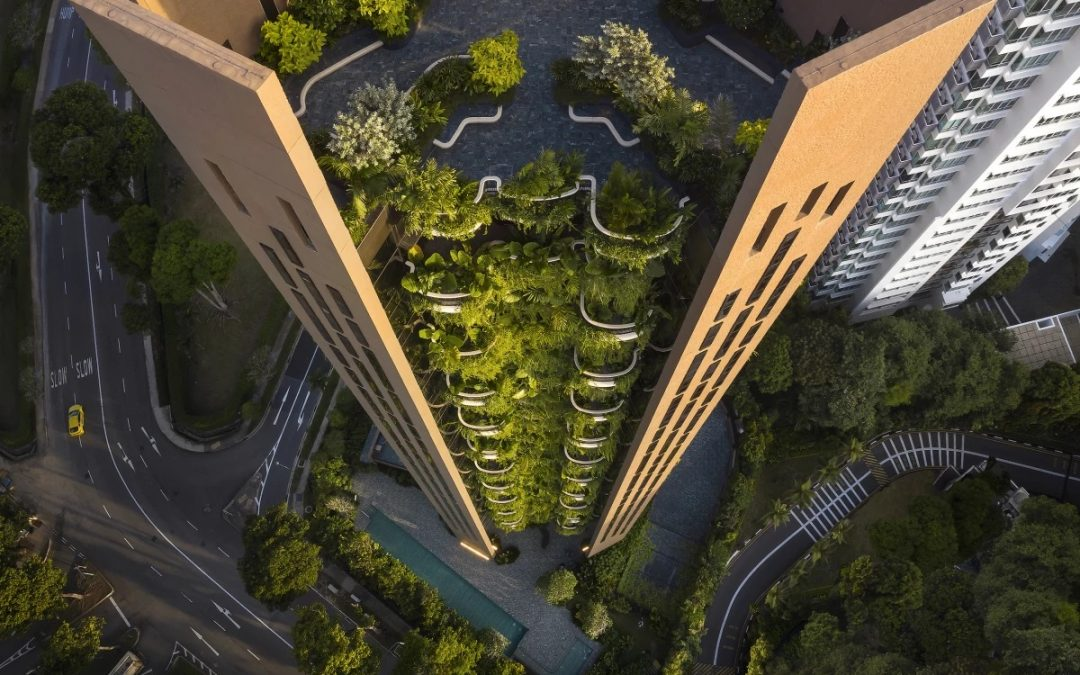 Heatherwick Studio's Residential Tower Overflows with Greenery