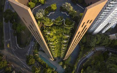 Heatherwick Studio's Residential Tower Overflows with Greenery