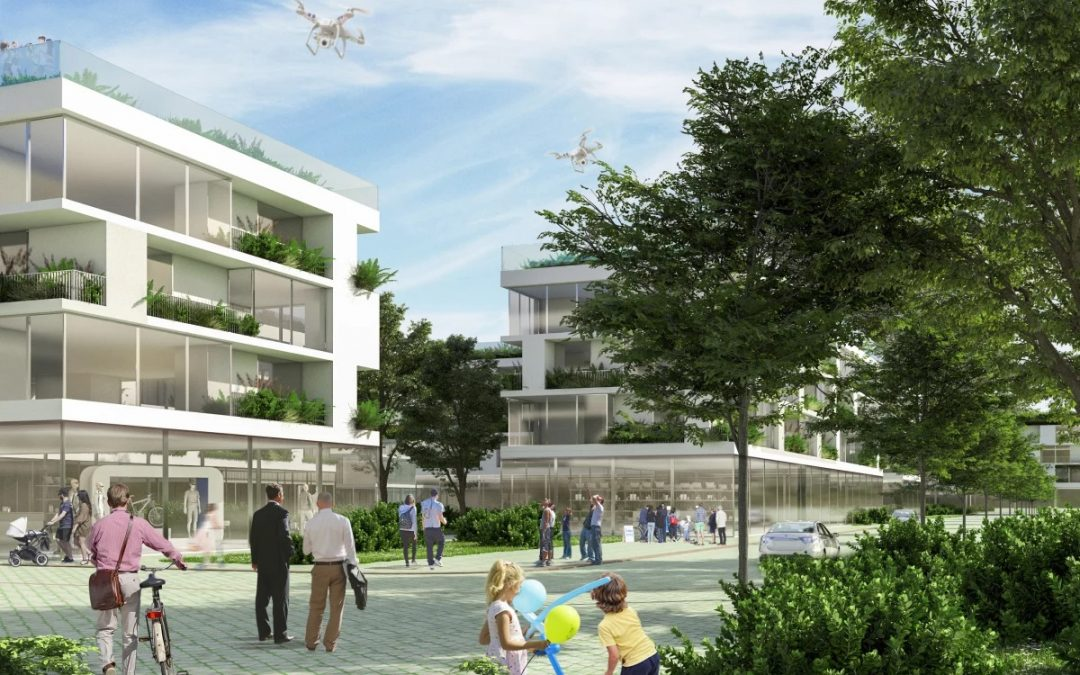 Stefano Boeri's Sustainable Neighborhood will be Filled with Greenery