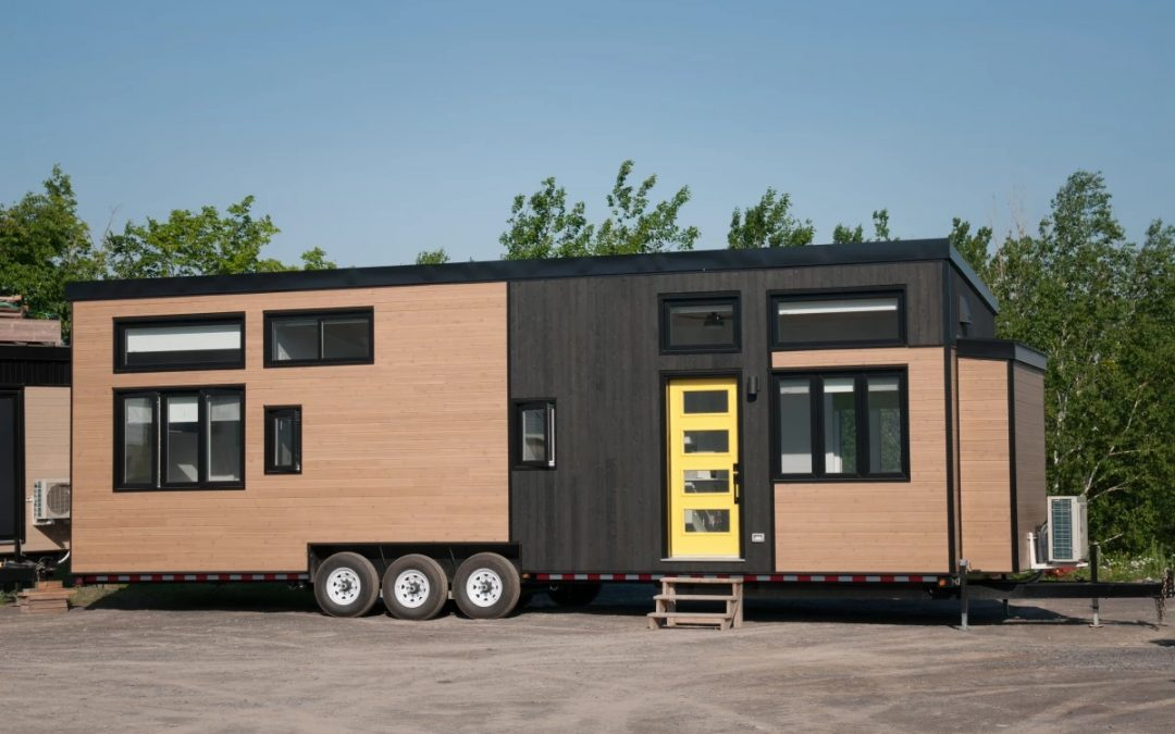 Sizable Magnolia V5 Tiny House is Like an Apartment on Wheels