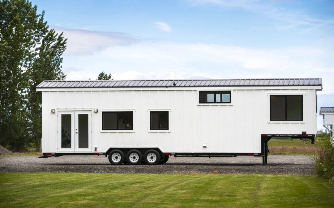 Tiny in Name Only: Sizable Towable Home can Squeeze in Eight