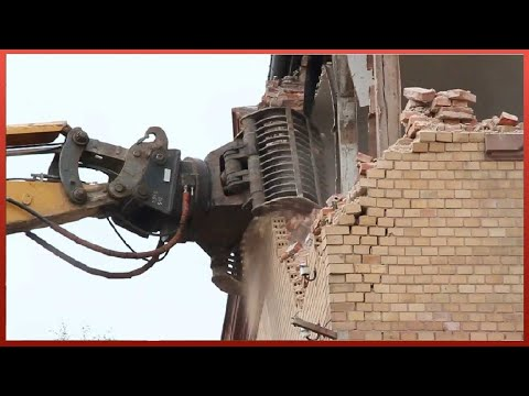 Most Amazing Building Demolitions Ever | Implosions And Heavy Machinery