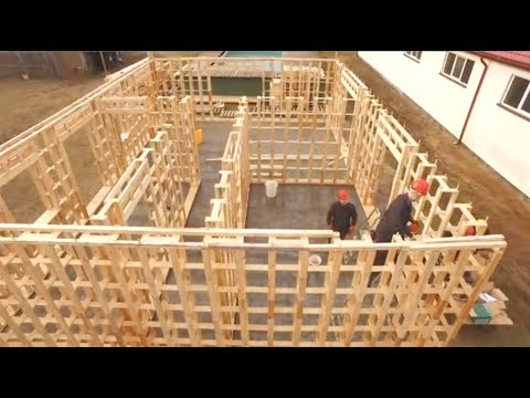 Incredible Fastest Wooden House Construction Method