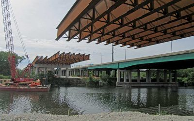 Fewer Piers Are More for Illinois Tollway's Mile-Long Bridge Replacemen