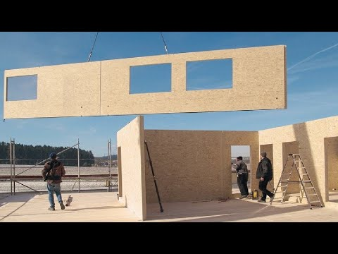 This Modern House Construction Method is Very Incredible