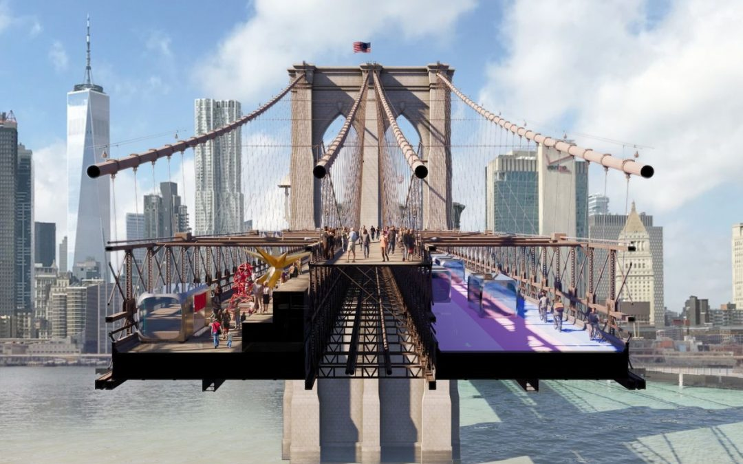 Glass Walkways and Green Spaces: Designers Reimagine the Brooklyn Bridge Experience