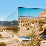 Luxury Rsidence Blends Beautifully into the Desert Landscape