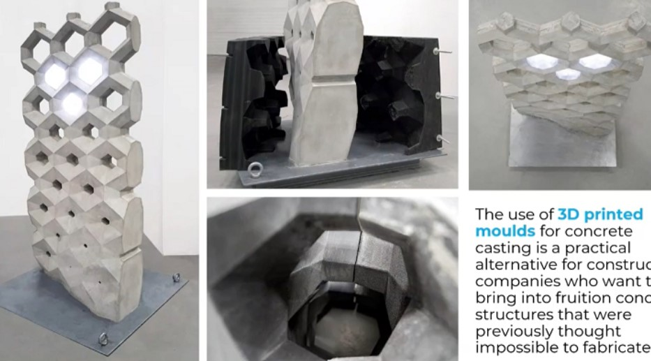 ACCIONA and a Multidisciplinary Approach to Concrete 3D Printing