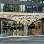 Gramazio Kohler Research, ETH Zurich Plants the 'Future tree' in a Swiss Courtyard