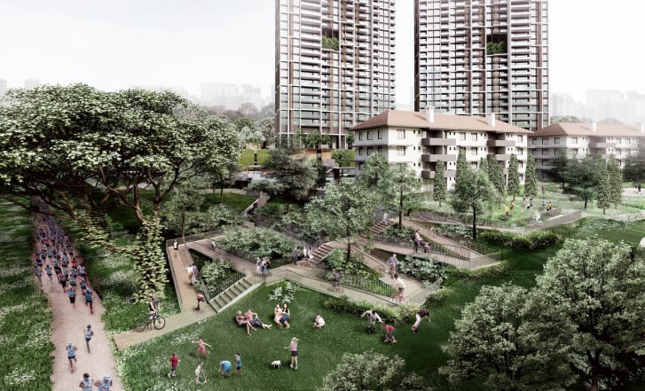 World's Tallest Prefab Skyscrapers will Rise in Singapore — But They're Being Built in Malaysia