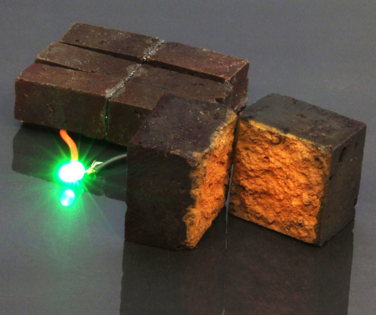 Red Bricks can be Converted into Energy Storage Units
