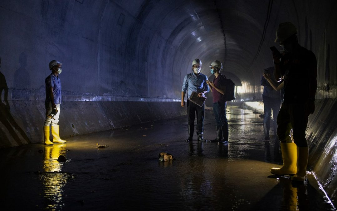 Hong Kong's Vast $3.8 Billion Rain-tunnel Network