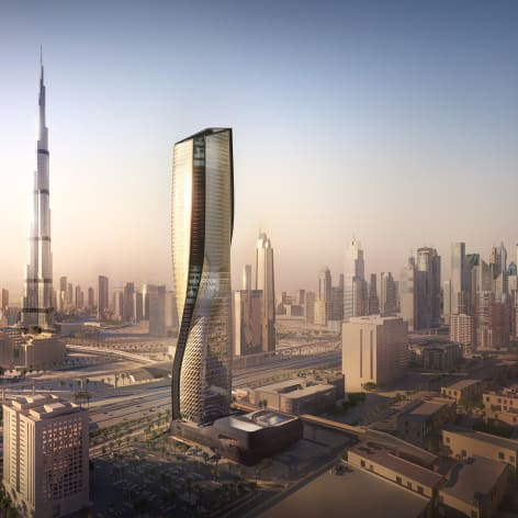 The Supertall Ceramic Tower that 'Breathes
