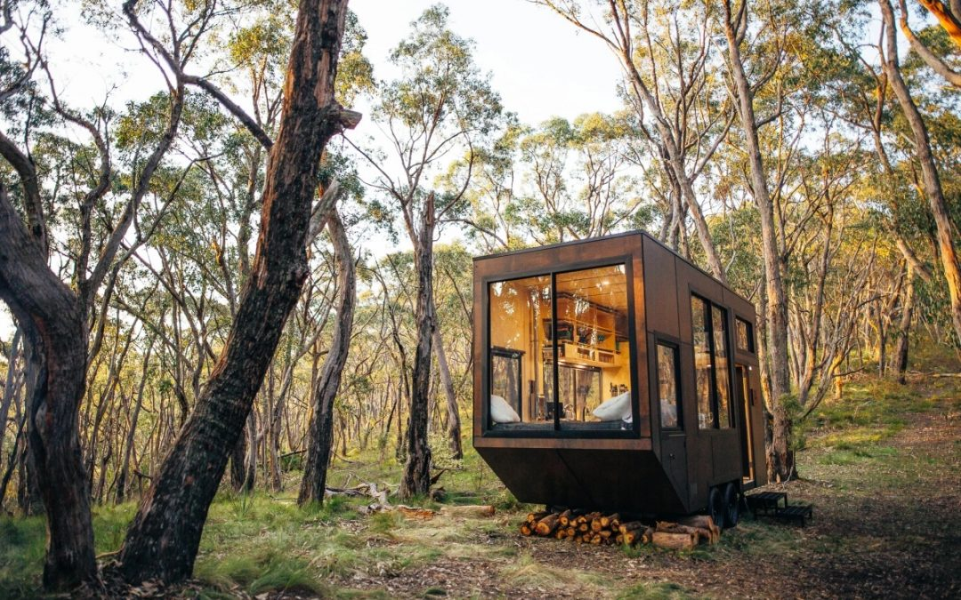 Tiny House; Charming off-grid Cabns offer Eco-friendly Refuge in the Australian Bush
