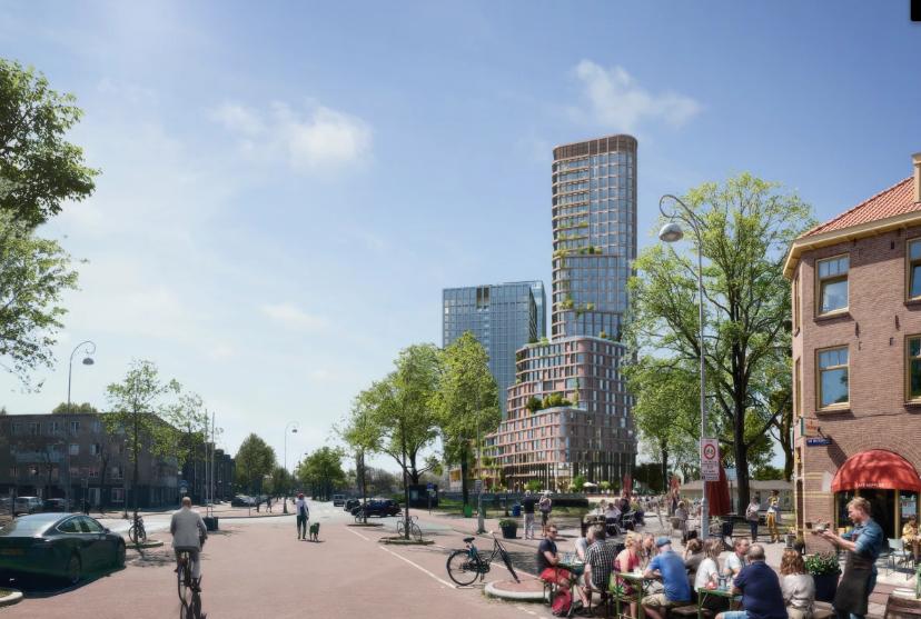 Mecanoo's Brick Tower will Make Use of Rain and Sunlight