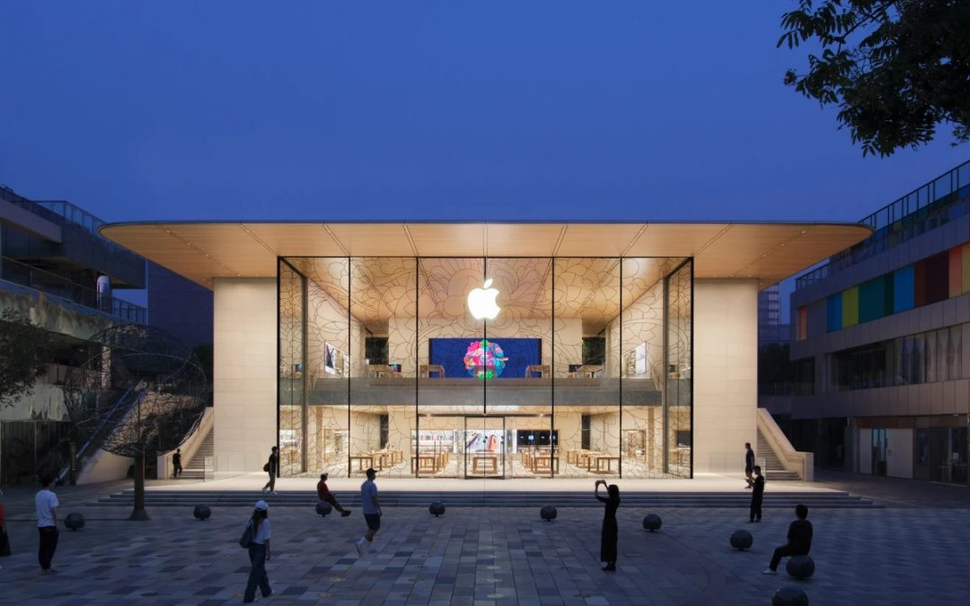 Apple Taps Solar Power for Massive New Store in Downtown Beijing