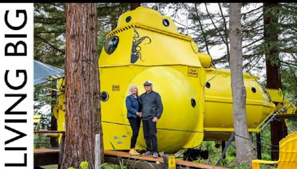 This Tiny House Is Actually A Submarine