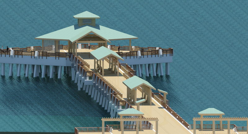 Folly Beach Pier to be Rebuilt Qver Two Years, Closing Oct. 19