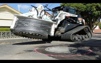 Incredible Fastest Road Construction Machines