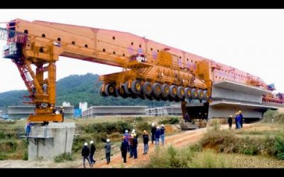 World Longest Bridge Installation Technology
