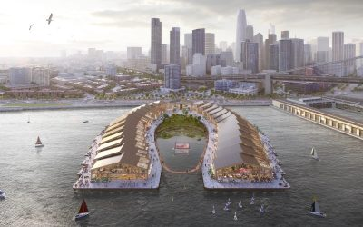 Heatherwick Studio Plans Horseshoe-shaped Park on the Waves
