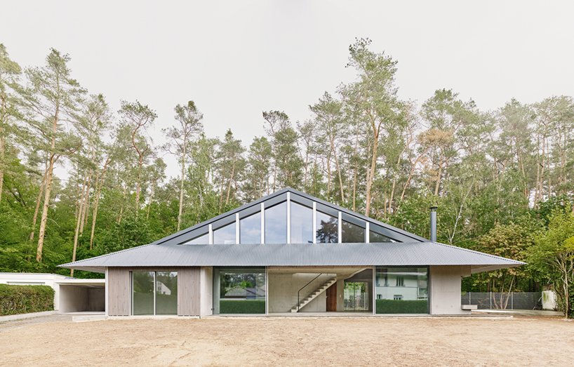 Alex Lehnerer's Rühlstrasse House Introduces Curving Concrete to Bavaria