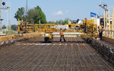 Rarely used 'top-down' Construction Technique used to Build New Metrolinx Rail Bridge at Milliken GO