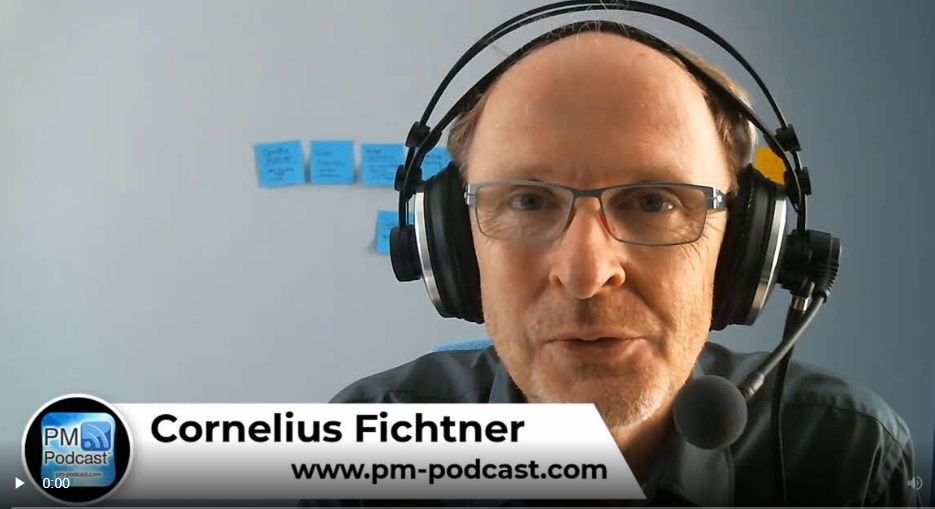 podcast – Project leadership;Cornelius Fichtner's Project Business Career – Part 1
