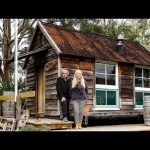 Colonial Cottage Style Tiny House Built For Only $8000