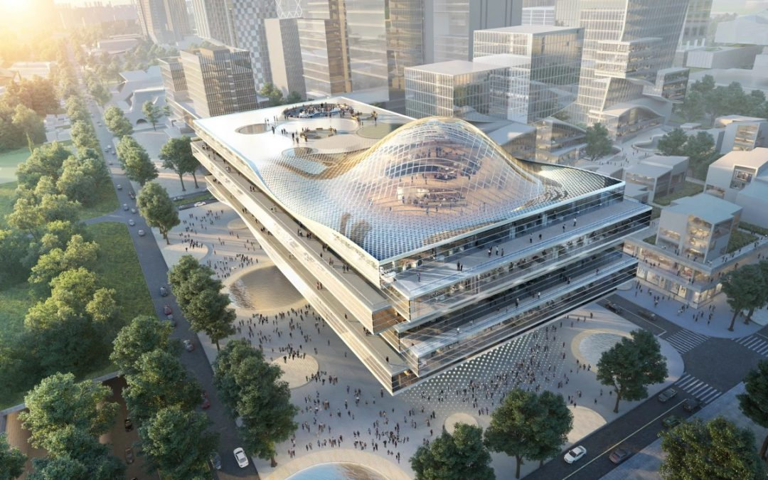 New ZTE Headquarters to Make a Splash with Dazzling Wave Design
