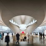 Zaha Hadid Architects' Metro Station Helps Travelers Find Their Way