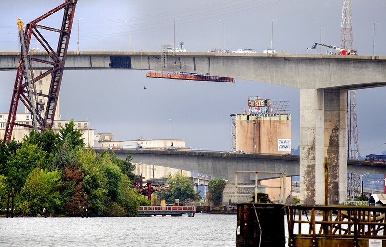 A Nnew West Seattle Bridge could be Even Higher than the Current 140-Foot-tall Span