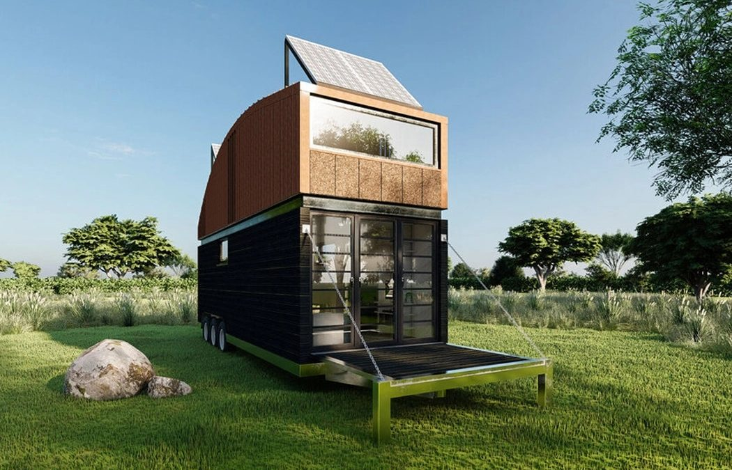 This Tiny House on Wheels is Made with Frendly Materials for Sustainable Home Owners!