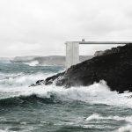 luiz Eduardo Lupatini Designs a Monumental Concrete Structure Anchored off the Algarve Coast