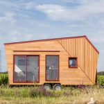 Compact French Tiny House Ooes Big on Light and Views