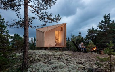 Designing anAdaptable Prefabricated Cabin: Space of Mind is a Modular Cabin Designed to be Built anywhere
