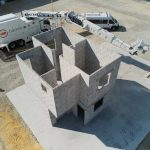 Robotic Construction: Block-laying Robot Hadrian X  Builds First Two-storey Hous