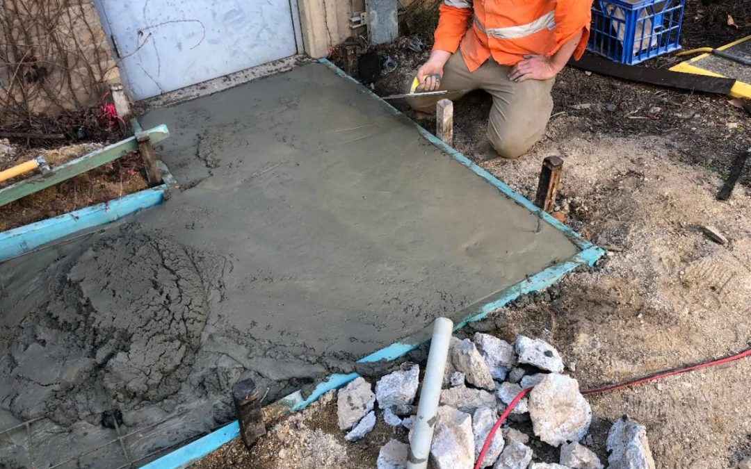 """Green"" Cement Pour Vields Concrete Results"